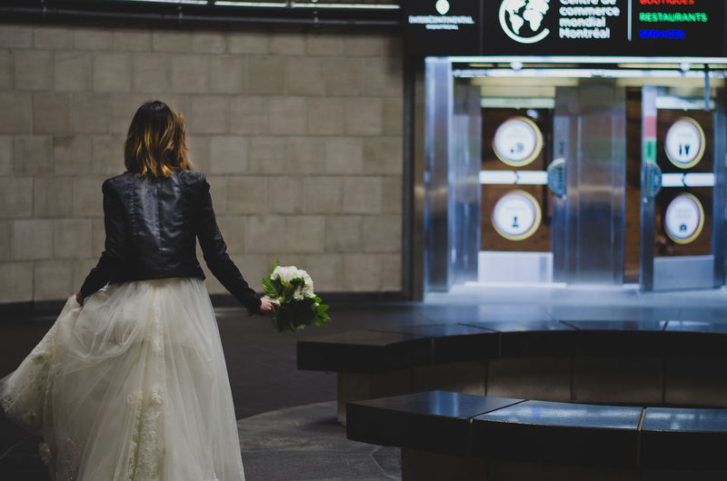 Bride Pre-wedding Shoot Runaway RunAway Bride  Runawaybride Running Bride Subway Wedding