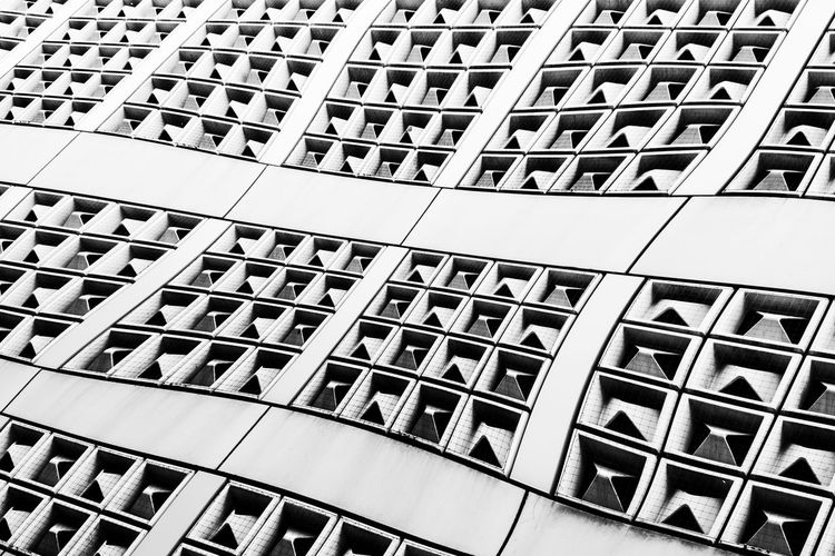 Quadratic? #Q Abstract Abstract Art Abstract Photography Backgrounds Black & White Black And White Collection  Design Detail Full Frame Geometry Metal Modern Monochrome Pattern Q Regensburg Repetition Shape Structure Urban