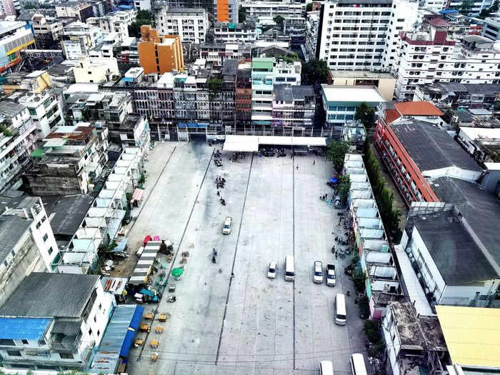 High Angle View Day Outdoors Backgrounds Aerial View Bangkok City Bangkok Thailand Thailand Trip Bangcok Thailand_allshots Neighborhood Map