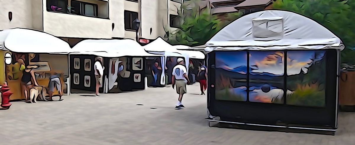 Architecture Art Art Show Day Outdoors Vail  Vail Colorado Vail,co Vailsummer