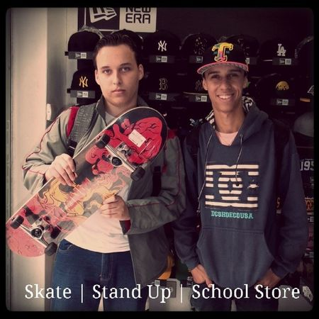 Skate Stand Up Skate Completo Standup Importado novidade variedade schoolstore school store core lifestyle urbanwear skateshop boardshop siga followme follow me