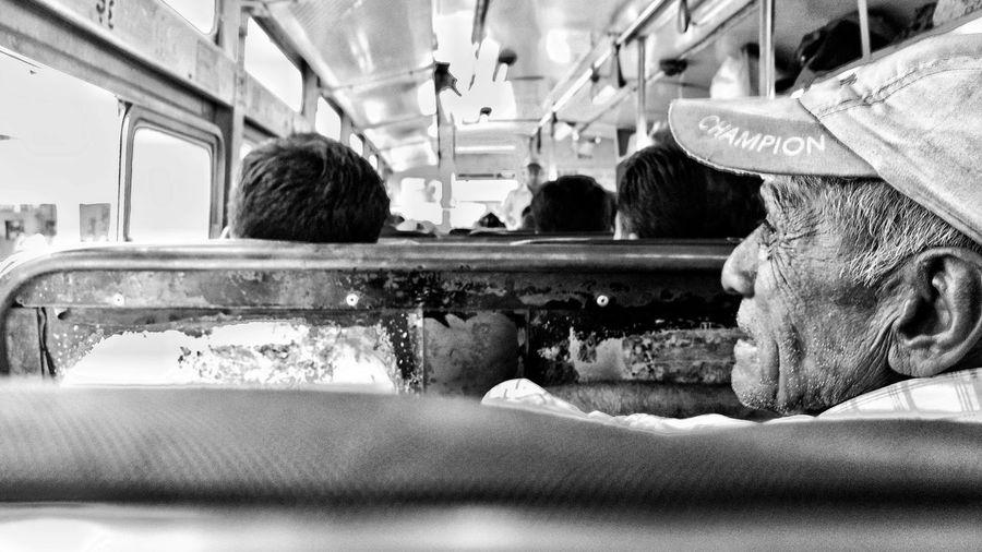 old man Potrait Oldman Lifeexperience Old Man Men Human Hand Architecture Public Transportation Train Interior Train - Vehicle