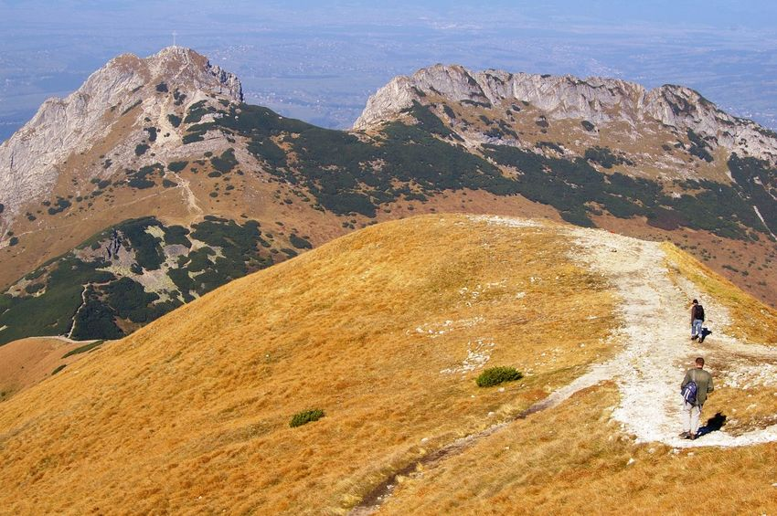 Cross Giewont Landscape Mountain Mountain Range Peak Rock - Object Route Tatry Trail