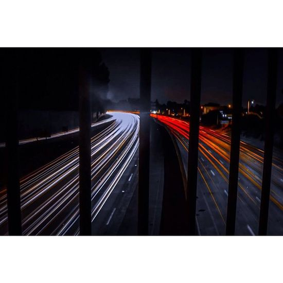 Light trails 😍 Conquer_la Weownthenight_la Welikela Nikon Nikontop DiscoverLA