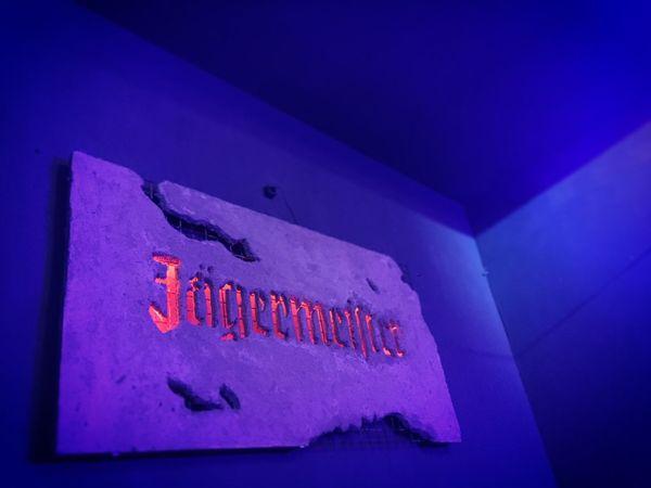 Jägermeister Purple Lights