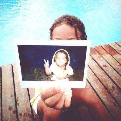 ayçin bebesi Polaroid