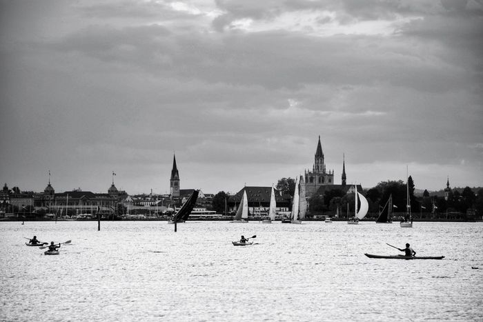 Lake Lakeview Lakescape Landscape_photography Landscape_Collection Lake Constance Landscape Landscapes My Point Of View Taking Photos EyeEm Selects EyeEm Gallery EyeEm Nature Lover EyeEm Best Shots EyeEm Best Shots - Black + White Blackandwhite Black And White Black & White Monochrome City Water Nautical Vessel Beach Architecture Cathedral Urban Skyline Place Of Worship Christianity Church