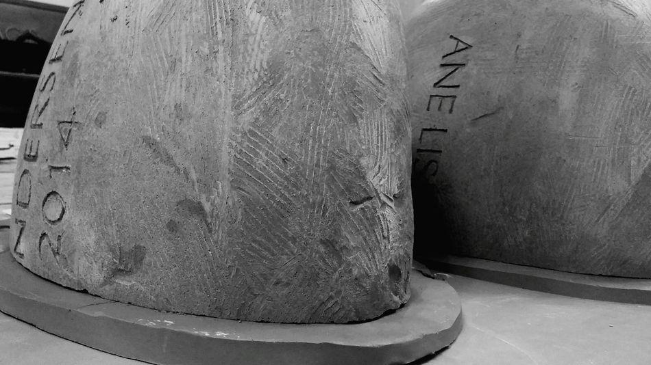 My moms Gravestone made out of Stoneware. Blackandwhite Ceramics Monochrome I Made It