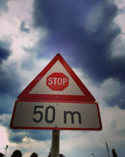 Stop... sign