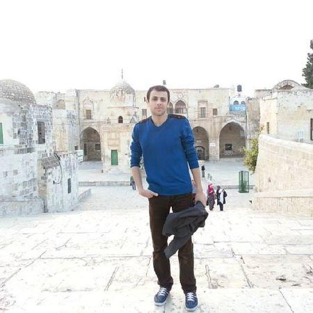 في باحة المسجد الأقصى ALAQSA Jerusalem Palestine