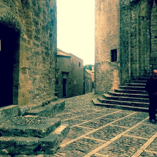 The Architect - 2017 EyeEm Awards Erice Italia Sicily Ancient Architecture The Great Outdoors - 2017 EyeEm Awards Visual Feast Outdoors Small Square Stairs Architecture Church Architecture Ancient Building Ancient City