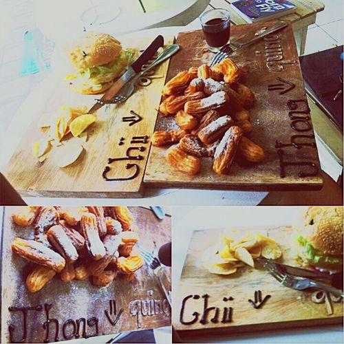 Chii + Jhong = ♥ Food Foodporn Churros 😝