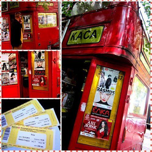 Наконец-то билеты купленны!)) Осталось ждать ноябрь  любимая  певица  концерт Elkasinger