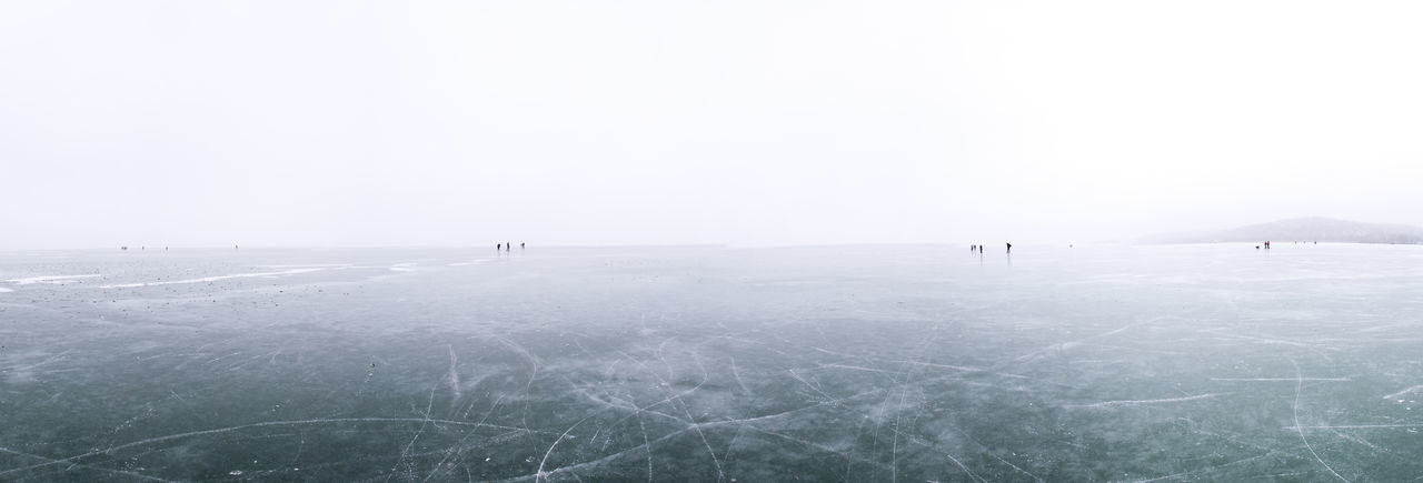 ice skate feeling in Balaton, Hungary. Miss in the nothing. Balaton Blue EyeEm Best Shots Eyem Nature Lovers  Hungary Ice Iceland Iceskate Lake Lake View Minimalism Mood Moodygrams Nature_collection Panorama Silence Sport In A Nature. Sports Photography Tranquility VSCO Vscocam Wave White Winter Wintertime