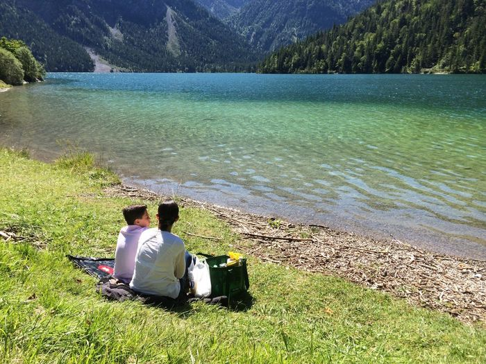 Adventure Club Lake Lake View Relax Mom And Son Family Nature Mountain Relaxing Hidden Gems