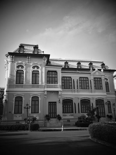 Bank of Thailand Architecture Building Exterior Built Structure History Outdoors No People Sky Old Buildings