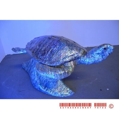 Probably still be there next year Slow Turtle Art Statue