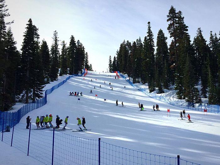 Pre-race Course Inspection Skirace Skiing Ski Resort  Northstar Snow Snow ❄ Truckee  Truckee, Ca Truckee Lake Tahoe California Winter Outdoors IPhone Photography IPhoneography Iphonephotography