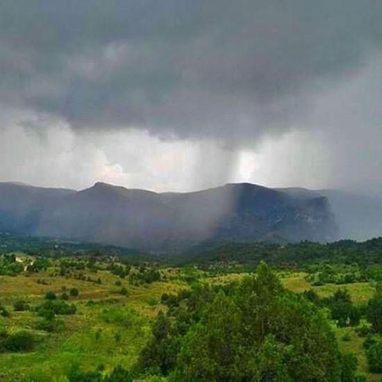 Mazi Gecmis Gokyuzu Yağmur Bulut