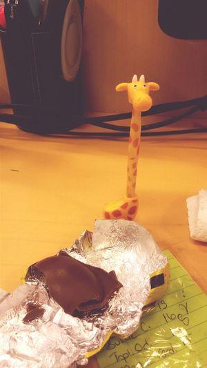 """Şansıma çıkana bak, yok artık """"zürafa"""" ??"""