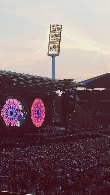 One of my greatest dream! I still can't believe my eyes... best band in the world Coldplay Aheadfullofdreams AHFODtour