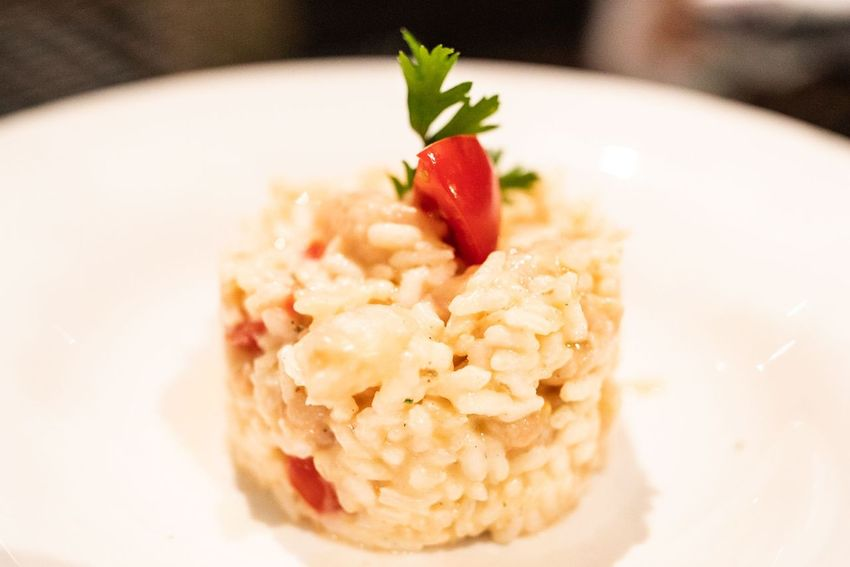 Risotto Risotto Sea Food Fish Risotto Istria Dinner Seafod Croatia EyeEm Selects Gourmet Red Close-up Food And Drink Healthy Food