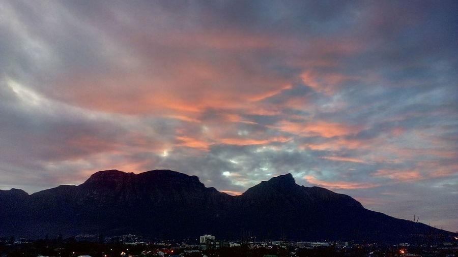Beautiful Nature Colourful Skies Spectacular Sunset Mountain Sunset Dramatic Sky Sky Cloud - Sky Landscape