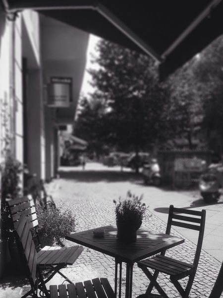 Breakfast Blackandwhite Summer I ❤ BERLIN Depth Of Field