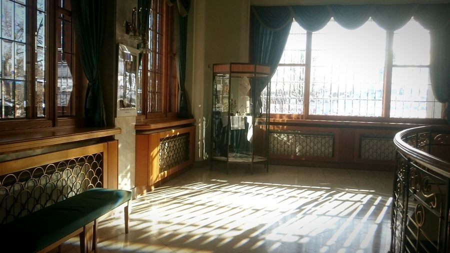 Architecture Illuminated Indoors  Reflection Light Window Sun No People