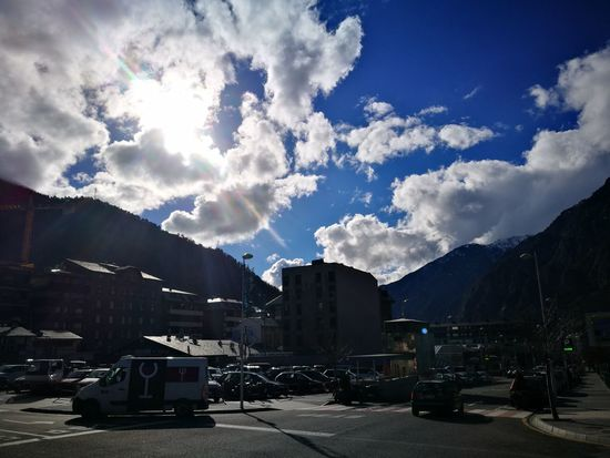 Andorra🇦🇩 Cloud - Sky Outdoors City No People Sky The Week On EyeEm