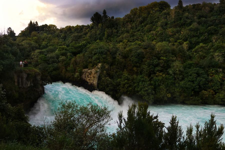 New Zealand Huka Falls Huka Falls, NZ Water Rapids White Water Rapids  White Water Blue colour of life Stormy Weather Stormy Sky Storm Clouds Sunset Nature No People Scenery New Zealand Scenery Tree Plant Beauty In Nature Scenics - Nature Growth Forest Sky Waterfall Motion Land River Cloud - Sky Tranquility Tranquil Scene Non-urban Scene Day Flowing Water Outdoors Power In Nature Flowing