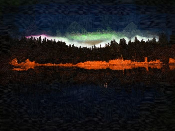 Dusk in the wild Cascades. Oregon Cascades Clear Lake  Oregon Dusk VirtualPainter Capture The Moment Landscape Landscape_photography Landscape_Collection