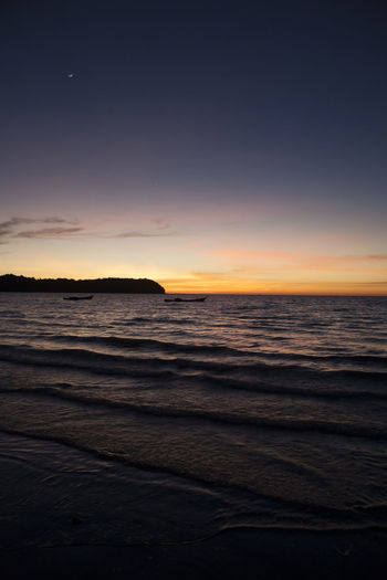 Edge Of The World Beach Sunset Ocean Colors