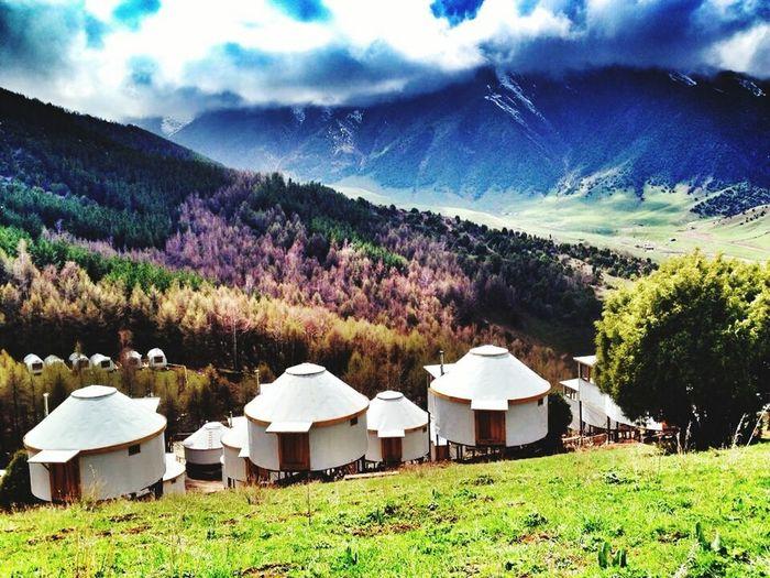 Hi! Hello World Welcome to Kyrgyzstan KG Kirgizistan Hotel Kırgız Boz üi