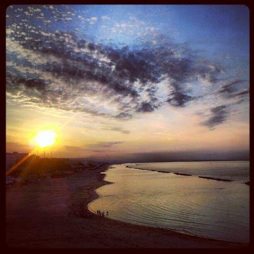 Sun Mare Marino Sea blu nuvole cielo