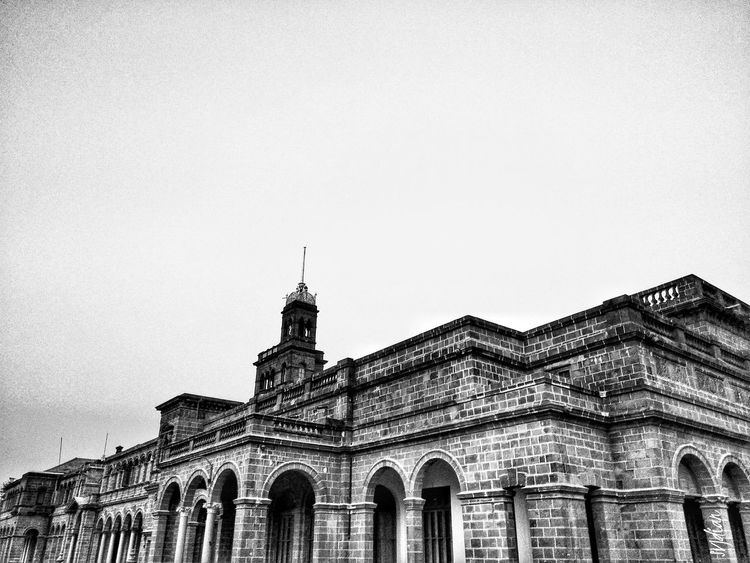 Architecture Building Exterior Built Structure Travel Destinations City Politics And Government Travel Sky Government Outdoors No People Clock Tower Day University Campus University University Of Pune Oldbuilding Redmi Note 3 Stories From The City