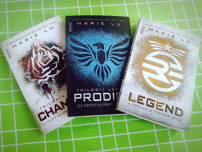 ♥♡ Hi! Hello World Livros Books Legend Prodigy Champion
