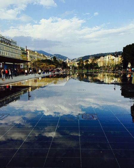 Nice France South Of France Landscape Clouds And Sky Mountain View Reflection Cotedazur Taking Photos Enjoying The View Breathtaking Eyemphotography
