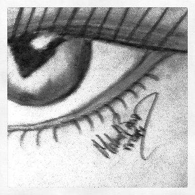 Eye Woman Sketch Sketchbybrown
