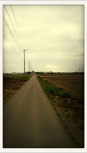 いさぬま近くを朝ジョグ。道がまっすぐな農道が多いので走りやすい。