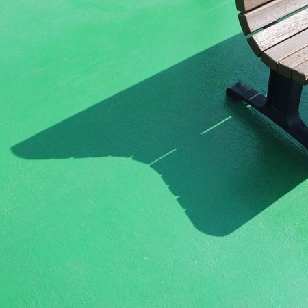 Art Simplicity Green Color High Angle View No People Day Aerial View Water Shadow
