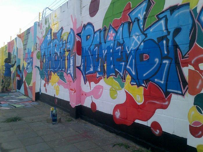 Graffiti art by AnunG Suriname.... Iloveart Graffiti Suriname