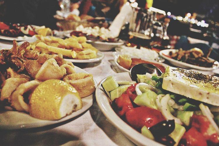 A greek tavern is always a good idea.. Mediterranean Food Food Porn Enjoying Life Greece