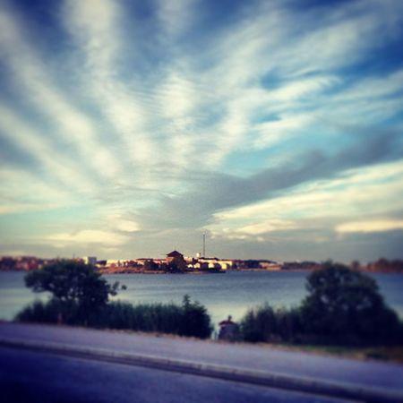 Nice. Avslut med bad i Karlskrona Sweden