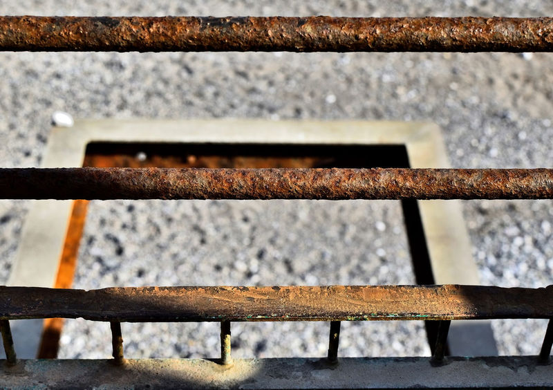 Braun Corrosion Torbay Torquay Day Iron - Metal Meadfoot Beach Metal No People Outdoors Sunshine Torquayseafront