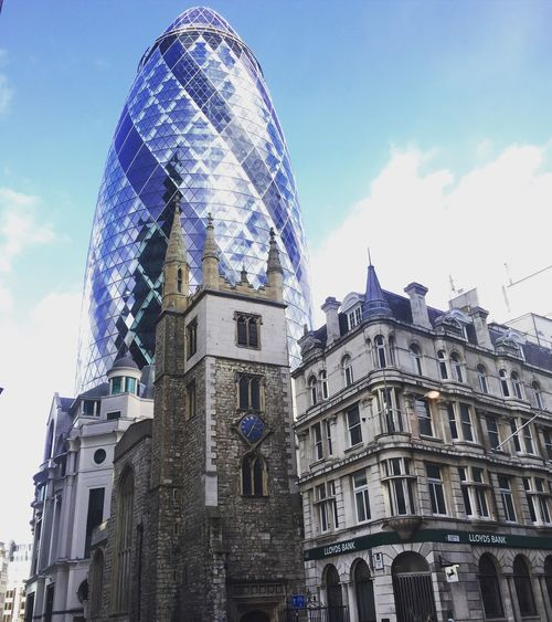 London Architecture Gherkin Building First Eyeem Photo