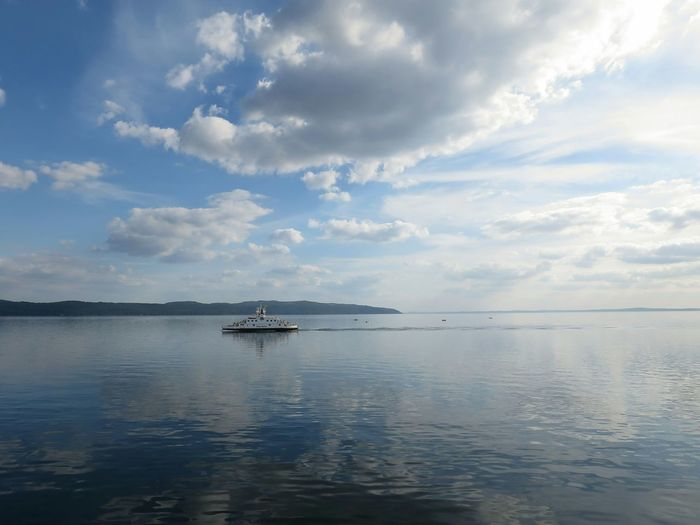 Ebba Brahe Ferry Horizon Sky And Clouds Amazing View Amazing Day Commuting Going Home