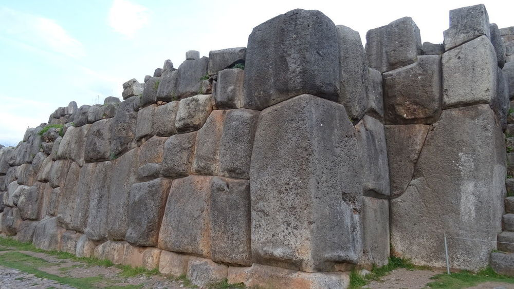 Ancient Ancient Civilization Cusco Cuzco Day Fortress History Inca Low Angle View Nature No People Outdoors Peru Rock - Object Sacsayhuaman Sculpture Sky Statue Stone Material
