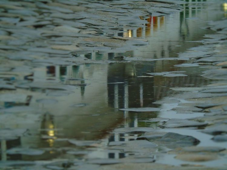 Eventide Historic City No People Outdoors Rainy Days Reflection Selective Focus Travel Photography Water Weather