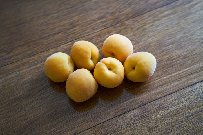 Yellow peach Close-up Food Food And Drink Freshness Fruit Healthy Eating High Angle View Indoors  Yellow Peach